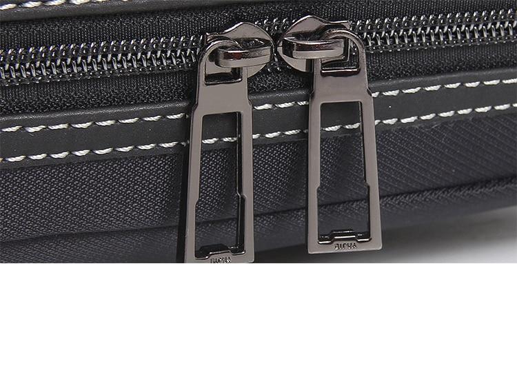 Business Oxford Men Briefcase 15.6 inch Laptop Handbags Men's Office Bags Multifunction Messenger BagComputer Work Bag