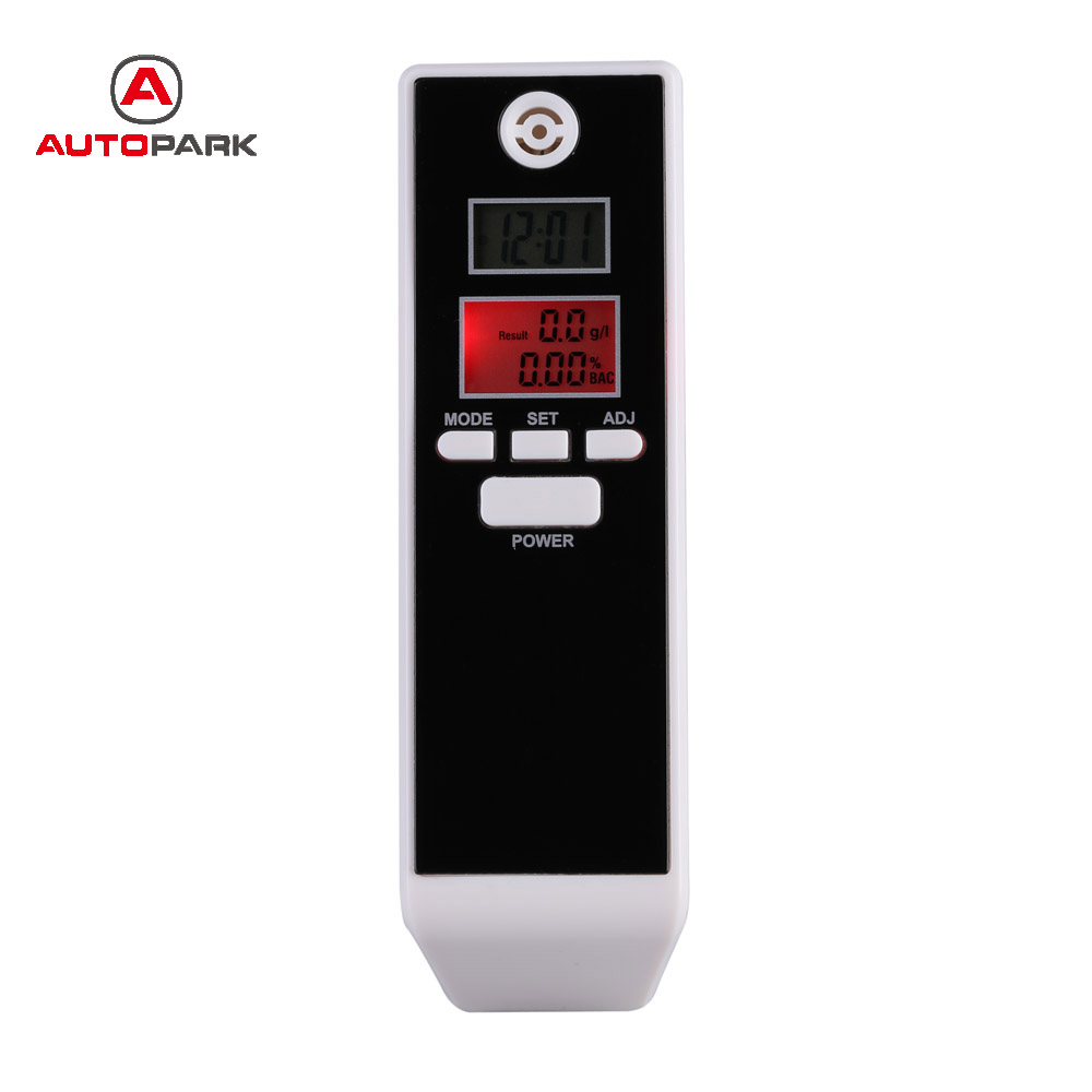 Prefessional Parking Detector Gadget  LCD Digital Breath Alcohol Tester with Backlight Breathalyzer Driving Essentials PFT-661S