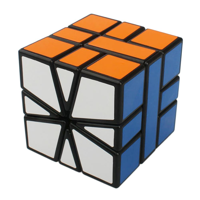 Shengshou SS SQ1 cube SQ 1speed SQ-1 cube Sticker Puzzle Competition Cubes Toys For Children cubo Square-1 Cube Square1 4 струнная бас гитара fender sq jaguar special ss car