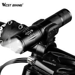 4000 люмен T6 светодиодный свет велосипеда Масштабируемые велосипедов фонарик факел перезаряжаемый источник питания 18650/AAA спереди Велоспорт