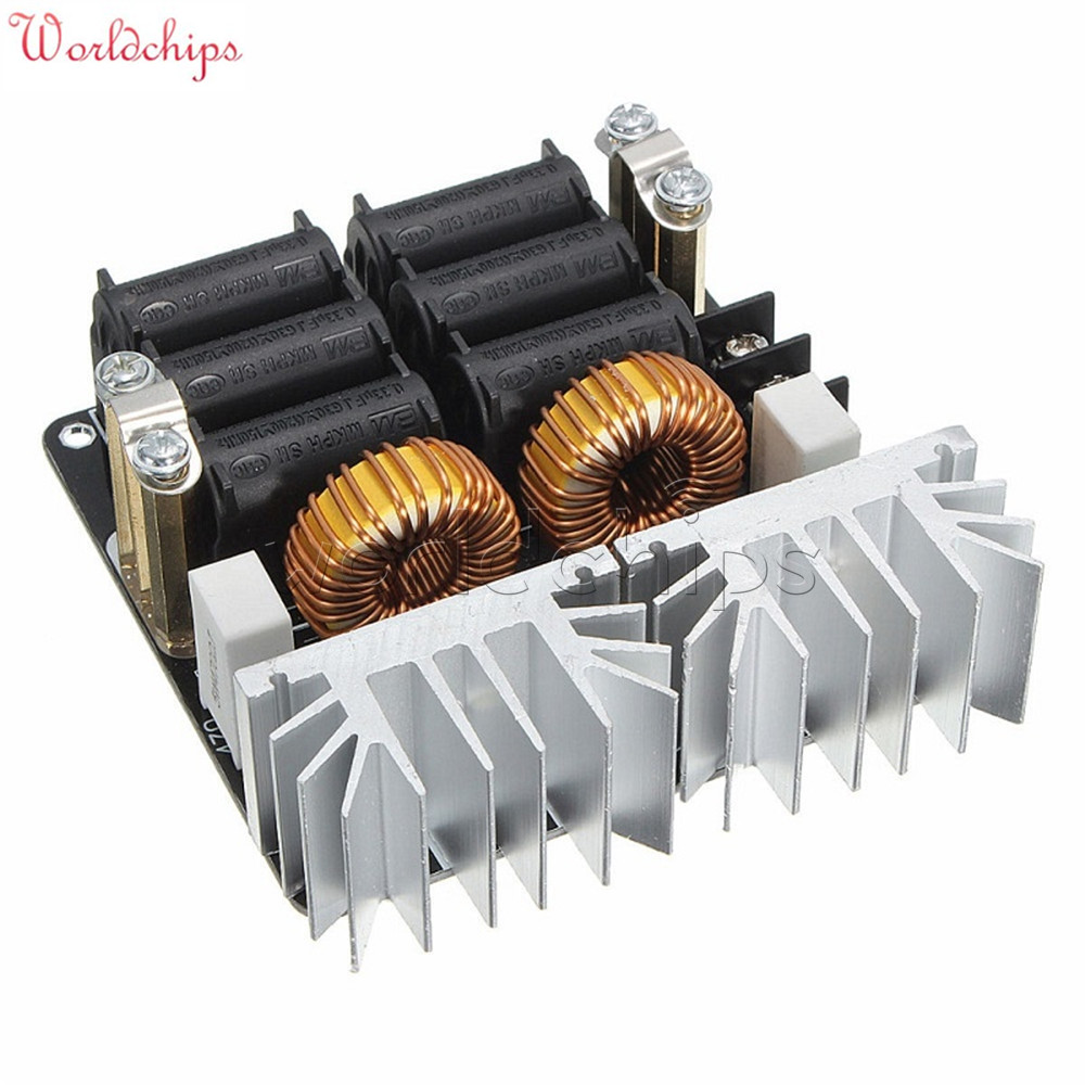 схема вихревого индукционного нагревателя