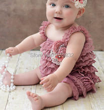 Baby Lace Petti Romper For Parties