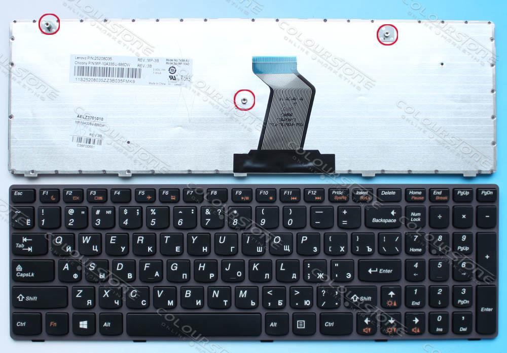 Free shipping ORIGINAL Laptop keyboard for lenovo G580 Z580 V580 GARY frame russian keyboard T4B8-RU free shipping for 2d keyboard xd2056 yuntai control keyboard the two dimensional control keyboard