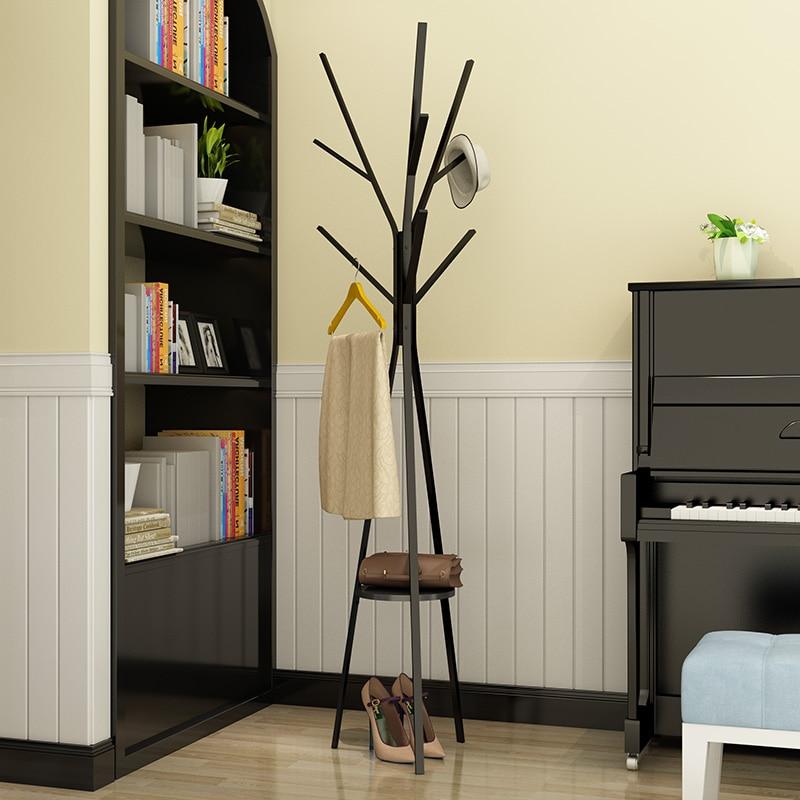 Metalo medžio stiliaus paltai stovi kūrybinis paltai lentynos - Organizavimas ir saugojimas namuose - Nuotrauka 1