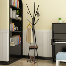 Metal Tree Style Coat Stand Creative Coat Rack Floor Clothes Hanger Bedroom Clothes Stand Save Space 45X45X180CM Coat Hooks
