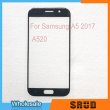 10pcs Front Outer Glass Replacement For Samsung Galaxy A5 2015 2016 2017 A500 A510 A5100 A520 A520F With OCA Film
