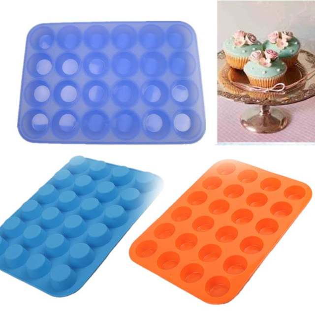 24 Mini Easter Egg Chocolate Silicone Mold