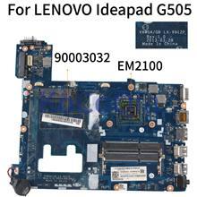 KoCoQin материнская плата для ноутбука LENOVO Ideapad G505 EM2100 15 дюймов материнская плата VAWGA/GB LA-9912P 90003032