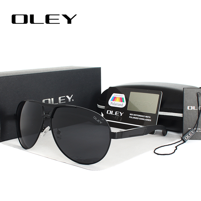 عینک آفتابی دور گرد OLEY یکپارچهسازی با سیستمعامل مردان عینک آفتابی قطبی بزرگ زنان قاب بزرگ رانندگی عینک شیشه ای lunettes de soleil pour hommes