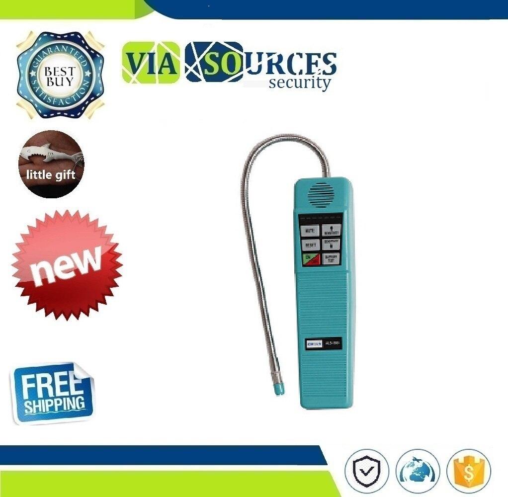 100% Original Elitech Halogen Gas Tester Refrigerant Halogen Leak Leak Detector Tester R134a R410a R22 R600a HVAC HLD-100+