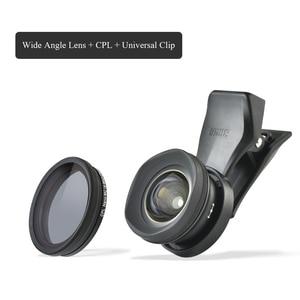 Image 5 - אוניברסלי טלפון עדשה בחדות גבוהה SIRUI חיצוני נייד עדשת מאקרו דיוקן סט מראה רחבה זווית fisheye עדשה עבור iphone