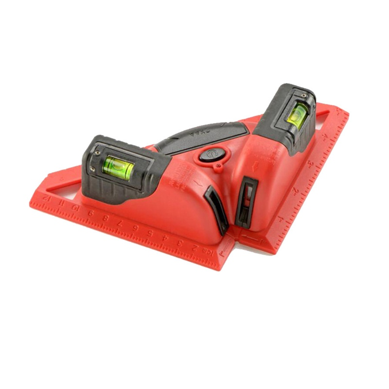KAPRO Laser Level 90 Degree Rectangular Angle Ruler Investment Instrument Laser Line Length Up to 20 Meters 2pcs 90 degree up
