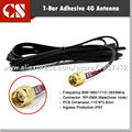 2G 3G 4G Outdoor  T-Bar Adhesive antenna,MIMO antenna  3M  RP SMA Male(inner hole)