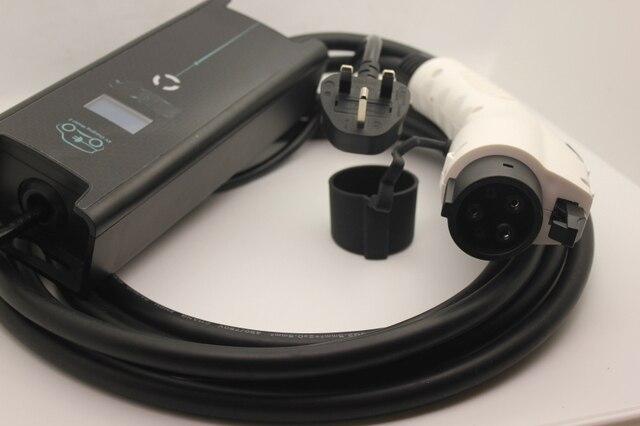 Bs Uk 3 Pin Plug Type 1 Sae J1772 8a 10a Ev Charging Mode 2 Evse