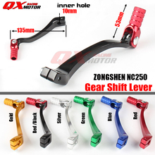 Motorcycle Aluminum Folding Shifter Shift Lever For NC250 KAYO T6 K6 BSE J5 M2 M4 TT 250R SHR kEWS k16 X7 Dirt Bike Motocross