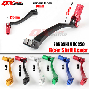 Motorcycle Aluminum Folding Shifter Shift Lever For NC250 KAYO T6 K6 BSE J5 M2 M4 TT-250R SHR kEWS k16 X7 Dirt Bike Motocross(China)