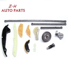 OEM Genuine 13PCS Timing Chain Kit Set 06H109467N 06K109467K Fit Audi A3 A4 A5 A6 Q5 VW GTI Tiguan Jetta CC Passat B6 EOS 2.0T dwcx black oil level sensor fit for vw golf gti passat touareg beetle caddy cc eos audi a3 a4 a5 q5 q7 seat skoda 6pr009629