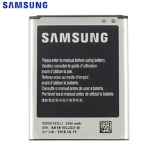 Samsung Original EB535163LU Battery For Samsung I9082 Galaxy Grand DUOS I9080 Genuine Replacement Phone Battery 2100mAh top quality lcd display panel screen for samsung galaxy grand duos i9080 i9082 replacement repair parts free shipping