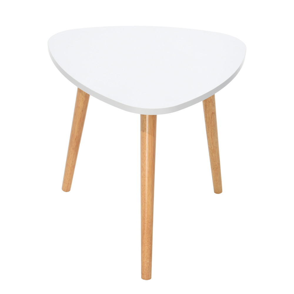 Table-Side Furniture Nordic Minimalist White Modern Office For Coffee-Table 5048cm/19.6818.89inch