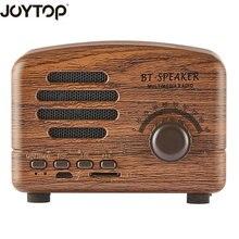 hot deal buy joytop vintage bluetooth speaker wireless portable mini hand-free speakers tfcard fm radiofor phone speakers computer bluetooth