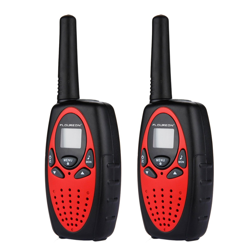Audio Intercom Zuversichtlich Floureon 8 Kanal Twin Walkie Talkies Pmr446mhz 2-weg Mini Radio 3 Km Reichweite Sprech Lcd Display