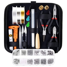 Jewelry Making Supplies Kit With Tools Wires And Jewelry Findings For Jewelry Repair And Beading