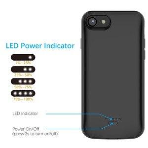 Image 3 - Etui do ładowarki do iPhone SE 2020 6 6S 7 8 5 5S etui do ładowarki Powerbank do iPhone 11 11 Pro X/XR/XS Max etui na baterie