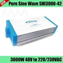 SHI3000-42 48 V 3000 W de onda sinusoidal pura inversor de potencia para el uso de electrodomésticos, sistema de energía solar fotovoltaica