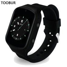 Smart Uhr Android Tragbare Geräte, Toobur GPS Wifi 3G Herzfrequenz Smartwatch Telefon mit HD Kamera Unterstützung SIM karte