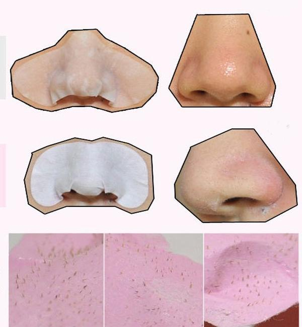 1 Pcs Face Care Deep Cleansing Black Head Pore Strip, Facial Minerals Conk Nose Blackhead Remover Mask Pore Cleanser Bracing Up The Whole System And Strengthening It