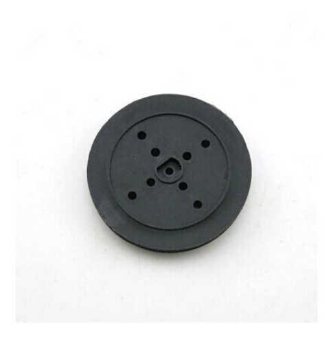 5 ชิ้น 36 มิลลิเมตรพลาสติกสีดำ D รูรอก TT มอเตอร์เกียร์ล้อ DIY หุ่นยนต์ของเล่นรถ RC อุปกรณ์เสริม f17663