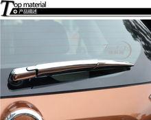 3 UNIDS Moldura Cromada T32 limpiaparabrisas trasero ajuste de la cubierta para el NUEVO Nissan X trail 2014 2015