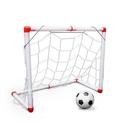1a06830af Portable Soccer Goal Post Net Utility Football Soccer Goal Post + Net +  Ball + Pump Safe Outdoor Indoor Kids Children Toy