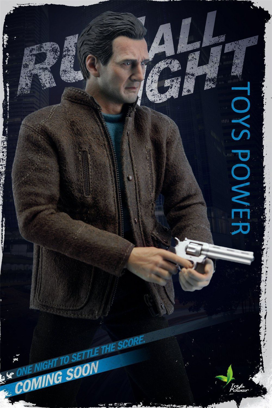 1/6 Scale Liam Neeson Action Figure Run All Night Bryan Mills CT005 Colletible Figures 1