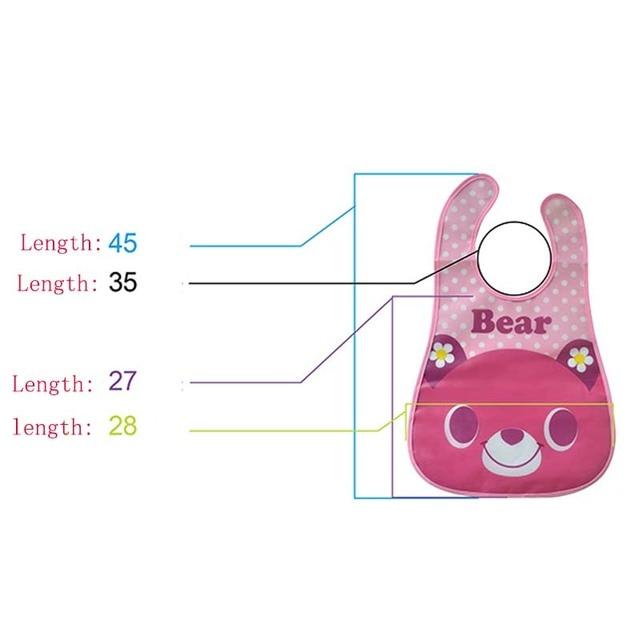 Baby Bibs Waterproof 3 Pieces/lot Lunch Bibs Infant Burp Cloths 2016 Brand Clothing Towel Kids Clothing Accessories 5