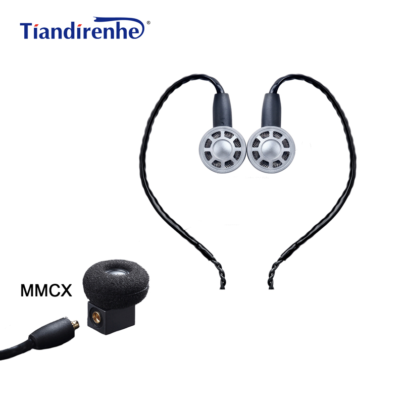 OURART Ti7 MMCX Headset Hifi Stereo Dynamic In Ear Earphones Noise Cancelling Bass Headphone Cable for Shure se215 se535 se846 gorsun gs a552 wired dynamic stereo bass headset headphone black red