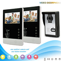Chuangkesafe V43D11-L 1V2 Manufacturer 4.3 Inch intercom system Handfree classical style video door phone for apartments