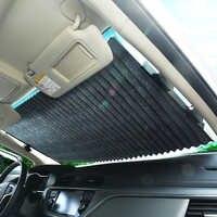 Nouveau pare-soleil de voiture automatique pare-soleil de fenêtre de voiture pare-soleil de fenêtre arrière pare-soleil UV Protection rideau 46 CM/65 CM/70 CM/80 CM