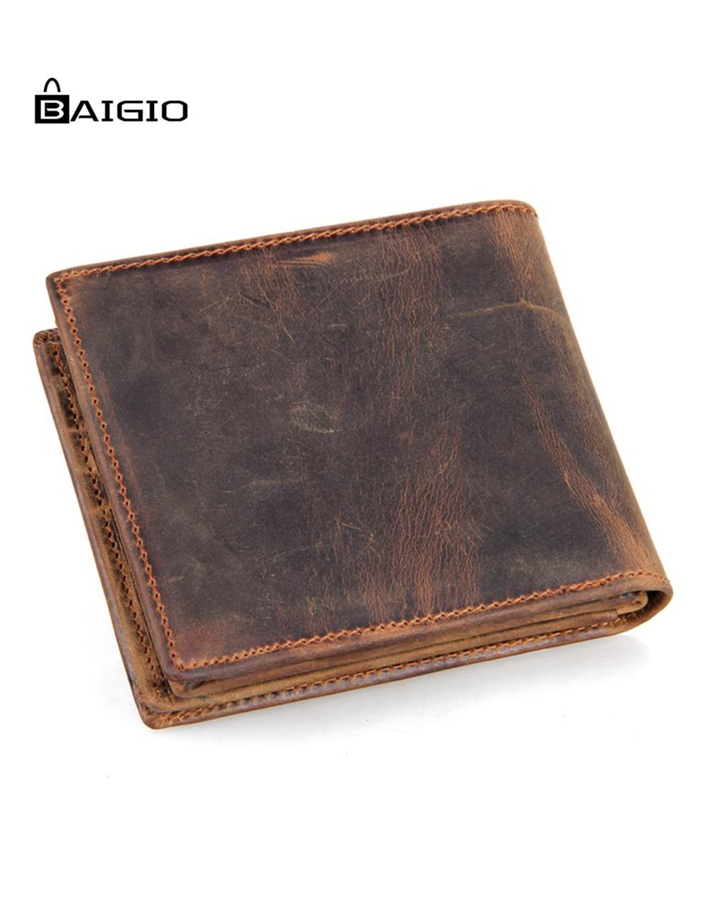 Baigio Men S Vintage Genuine