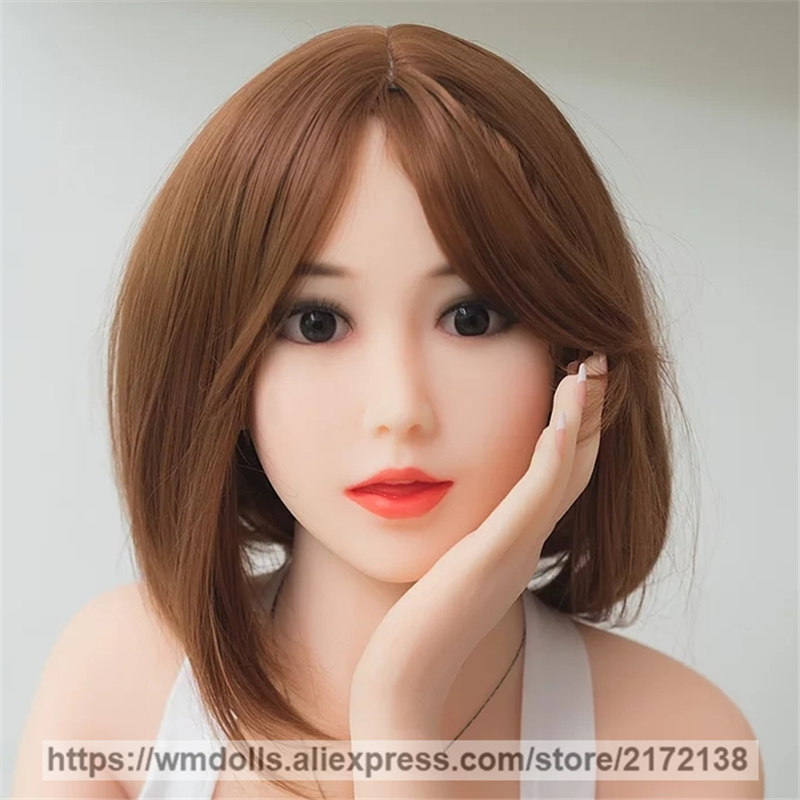 WMDOLL Sex Dolls Head for Silicone Doll, Realistic Sex Doll with Real Tongue Oral Sex Adult ToysWMDOLL Sex Dolls Head for Silicone Doll, Realistic Sex Doll with Real Tongue Oral Sex Adult Toys