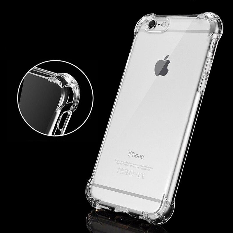 ITEUU 6 6S Plus TPU Soft Super Anti-Knock Case for iPhone 6 6S Plus - მობილური ტელეფონი ნაწილები და აქსესუარები - ფოტო 2