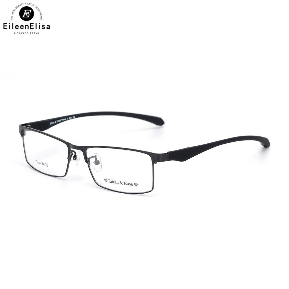 EE Mode Titanium Lunettes Cadre Marque Lunettes Optiques Concepteur Hommes Mémoire Montures de lunettes Lunettes de Prescription