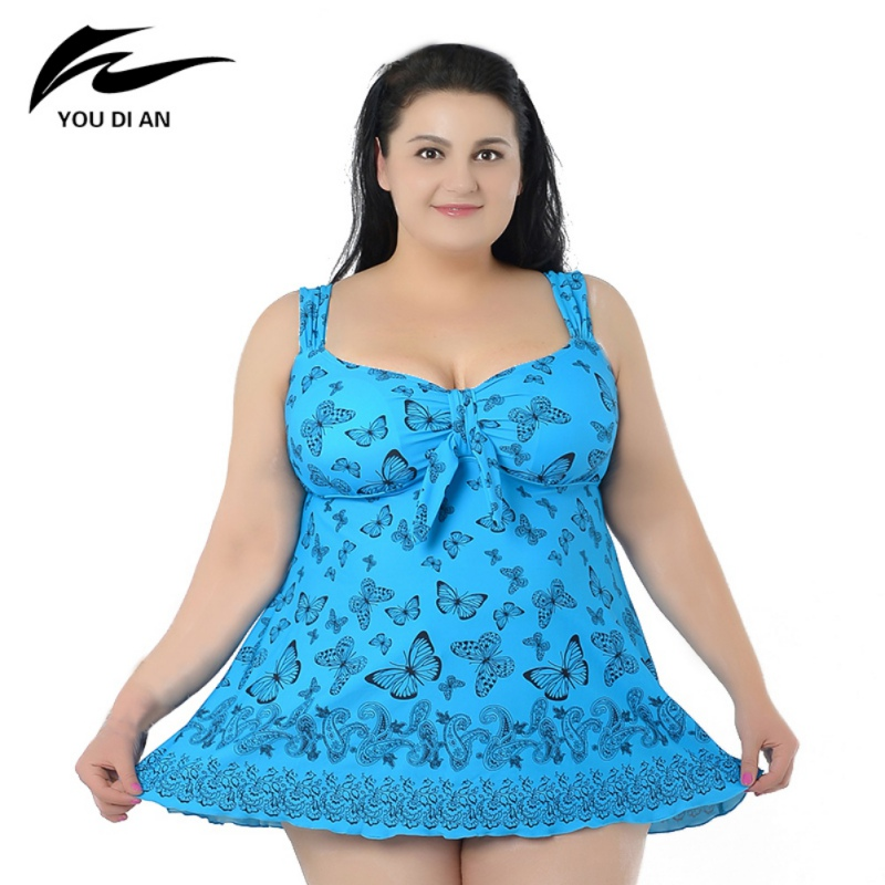 Swimming Suit Summer Dress Large Size 4XL - 8XL  Swimsuit One pieces Beach Bathing Suit Swimwear Sexy Women Dresses