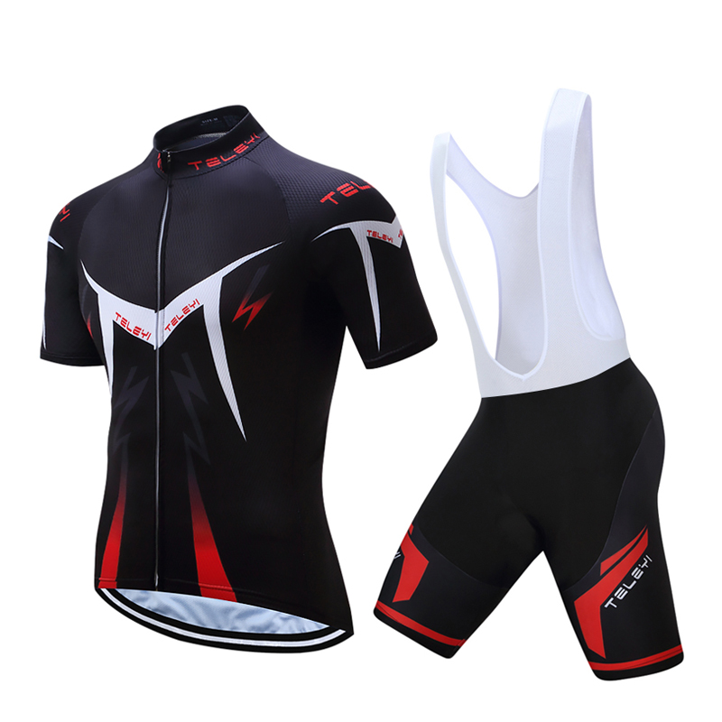 Men s cycling jersey set 2019 pro gel pad bicycle clothing triathlon suit  mountain mtb bike clothes 0de769a8f