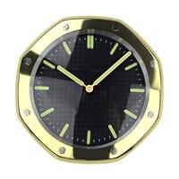 1 шт T6118 часы настенные часы в форме с подсветкой для Декор для дома