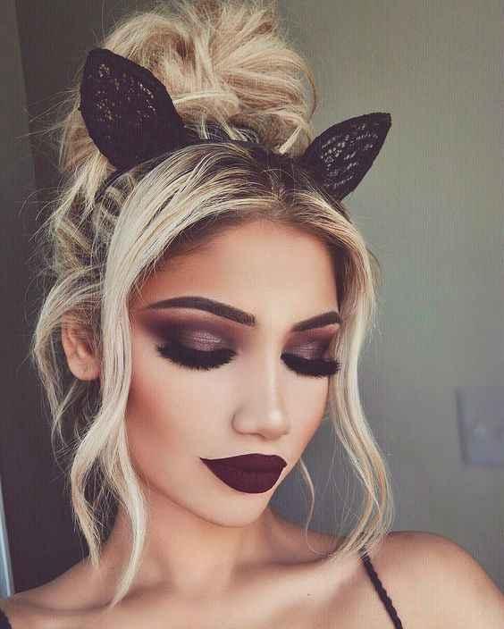 1 Pc Black Lace Cat Ears Headband สำหรับหญิงหญิง Hairband Dance Party เซ็กซี่ Boutique Hair Hoop อุปกรณ์เสริมผม