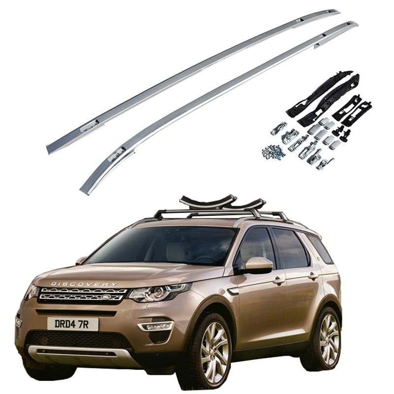 Roof Rack For Land Rover Discovery Sport 2015-2019 Racks Rails Bar Luggage Carrier Bars Top Racks Rail Boxes Aluminum Alloy