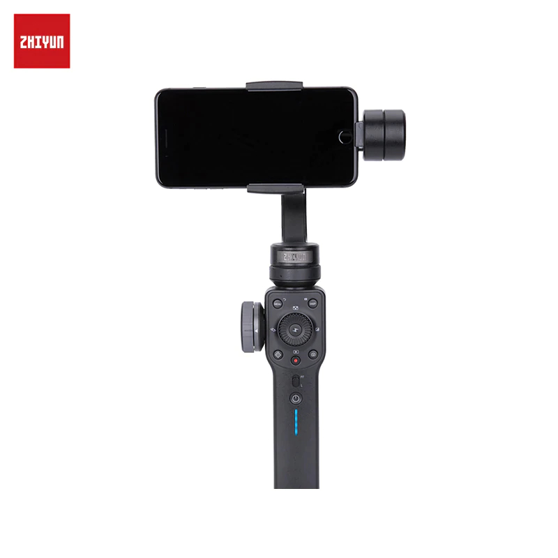 Handheld 3-Axis Stabilizer for Smartphone ZHIYUN Smooth 4 Smartphone Gimbal Stabilizer VS Smooth Q Model for iPhone X 8Plus 8 7 beyondsky eyemind smartphone handheld gimbal 3 axis stabilizer for iphone 8 x xiaomi samsung action camera vs zhiyun smooth q