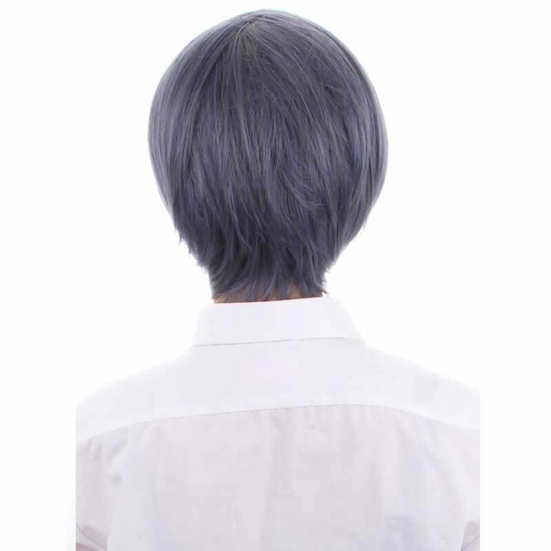 Takerlama аниме Black Butler Ciel Kuroshitsuji Phantomhive короткий Косплэй парик синий серый микс Хэллоуин вечерние этап Косплэй реквизит