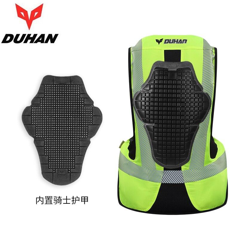 Duhan motocicleta jaqueta airbag colete motocicleta sistema de saco de ar equipamentos de proteção reflexivo moto airbag colete - 4